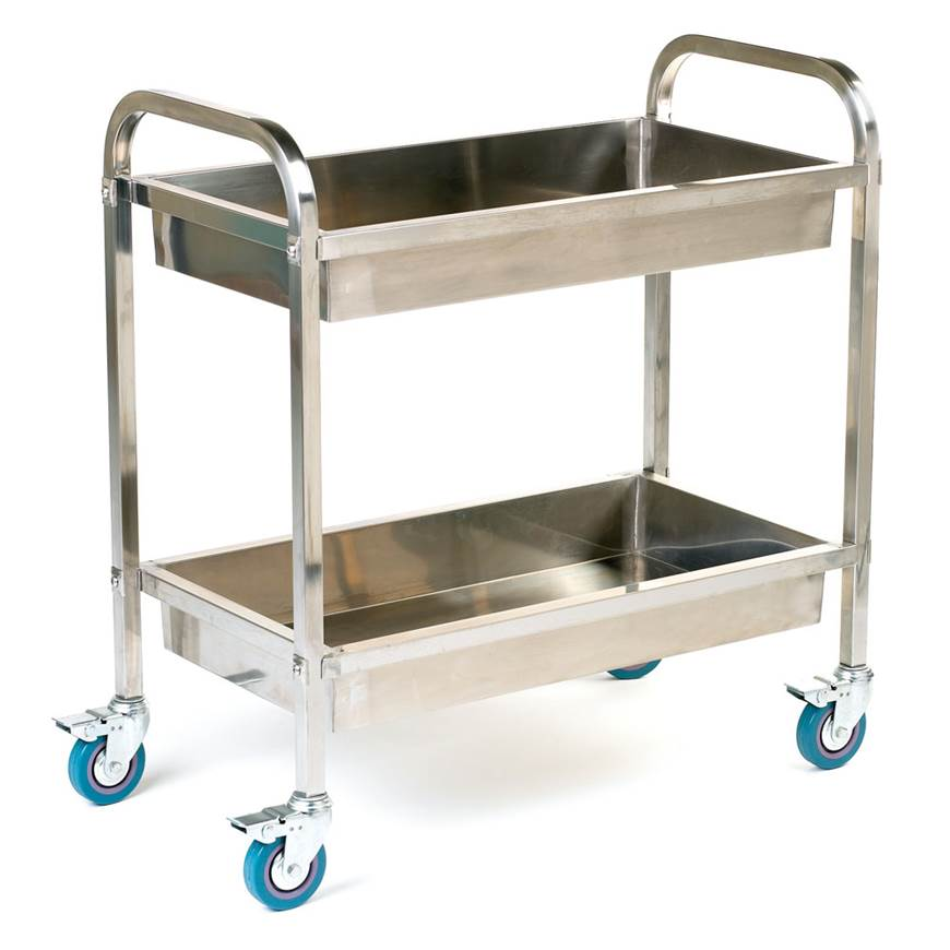 Picture of Deep Shelved Stainless Steel Trolley