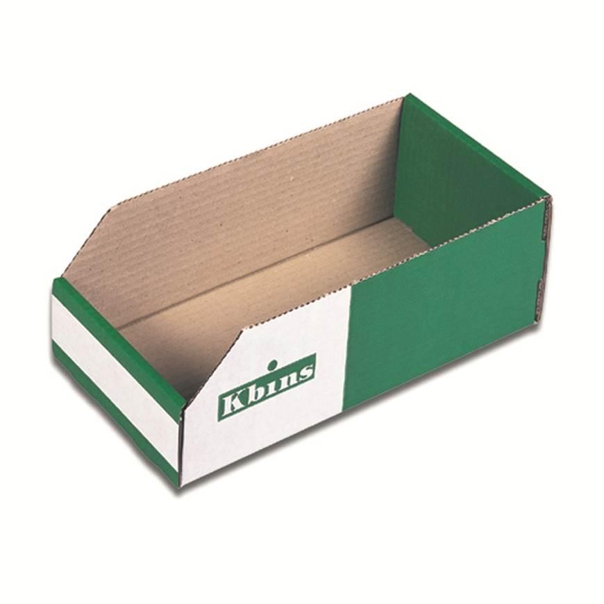 Kbins - Corrugated Cardboard Storage Bins (100mm High)  GPC