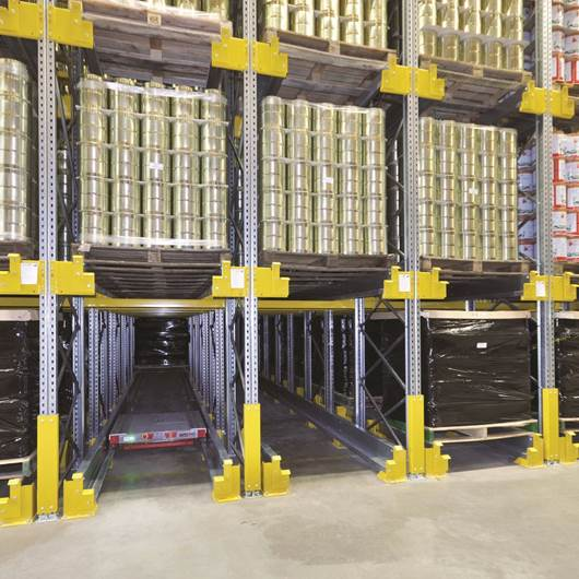 Picture of Stronglock Pallet Shuttle Storage System
