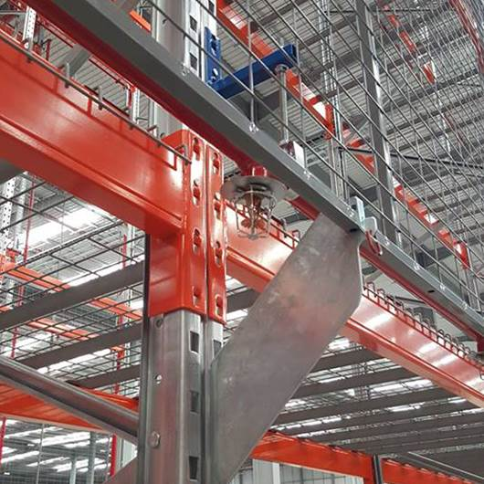 Picture of Anti-collapse Pallet Rack Mesh System