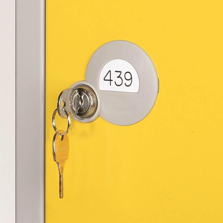 Vinyl Numbering For Standard Lockers GPC Industries Ltd - Vinylboden für industrie