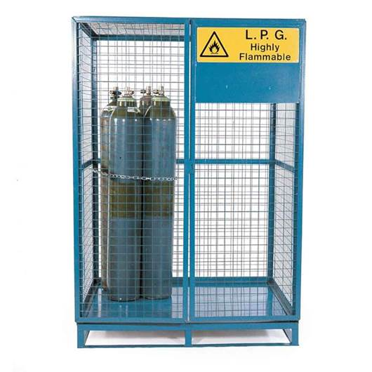 Picture of Cylinder Storage Lock Up Cages