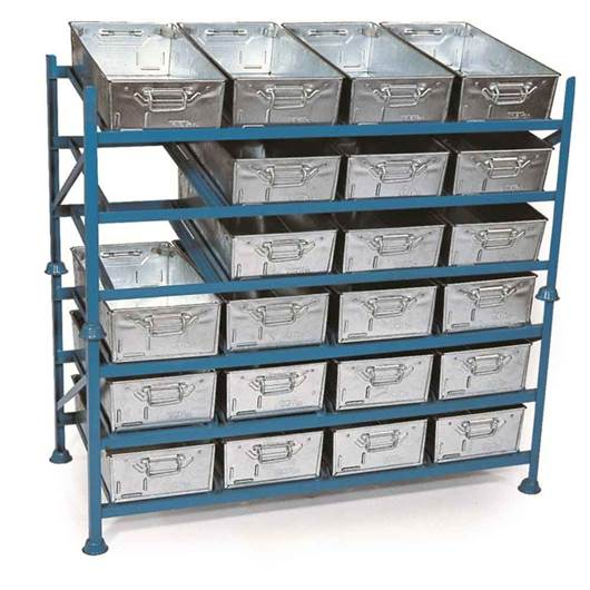 Picture of Stacking Tote Pan Racks