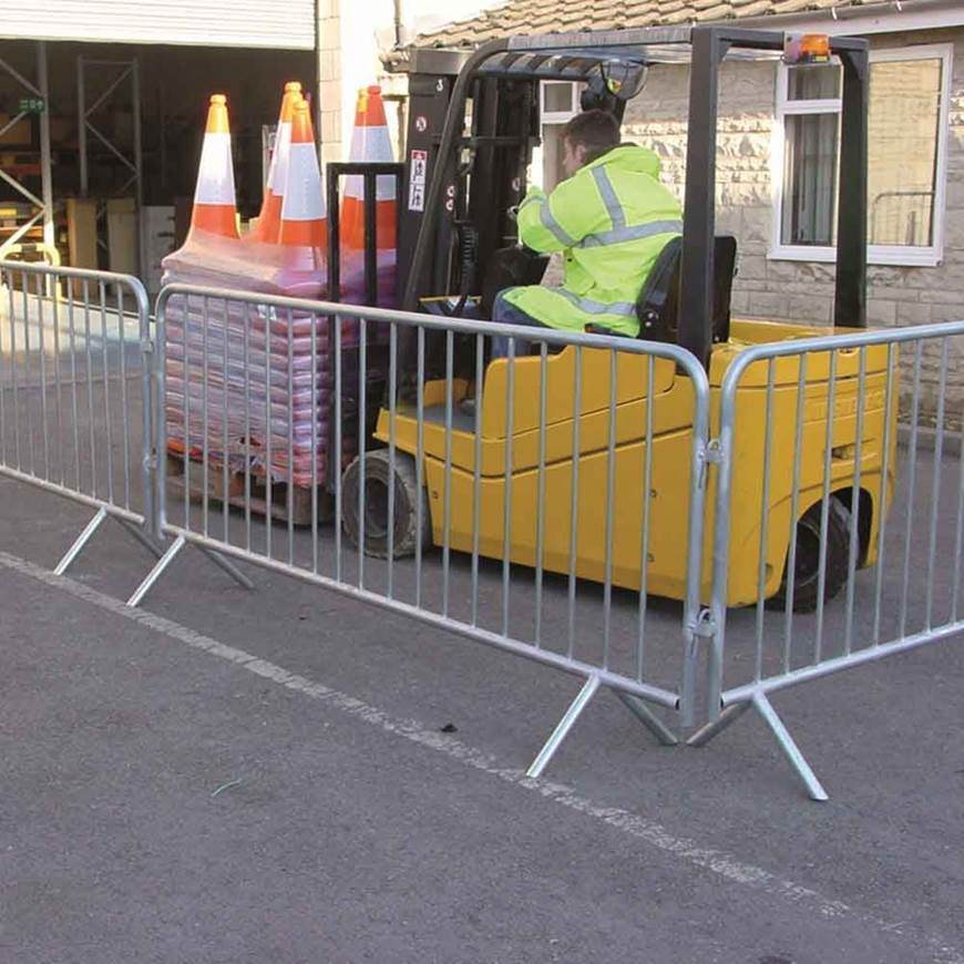 TRAFFIC LINE - Crowd Barriers  GPC Industries Ltd - Manufacturers of