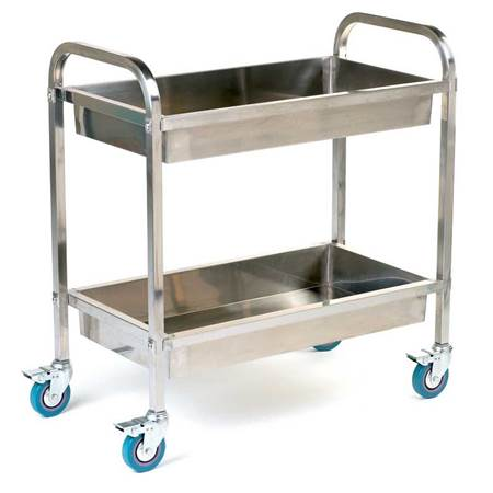 Picture for category Stainless Steel, Galvanised & Wire Trolleys