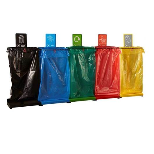 Picture of Recycling Sack Holders