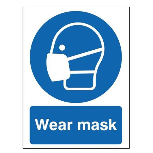 Picture of Wear Mask Sign