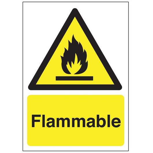 Picture of Flammable Sign