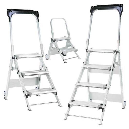 Picture of Easy Slope Aluminium Folding Leader Steps