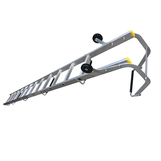 Picture of Two Section Push Up Roof Ladders